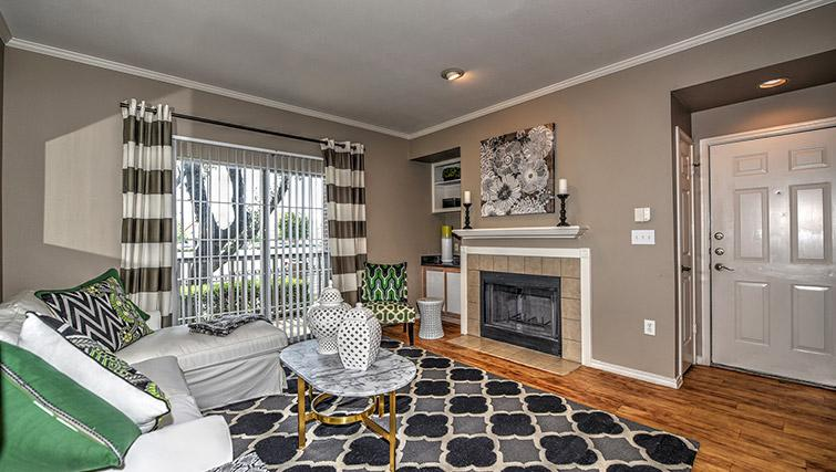 Living space at Walkers Ranch Apartments